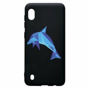 Etui na Samsung A10 Dolphin abstraction