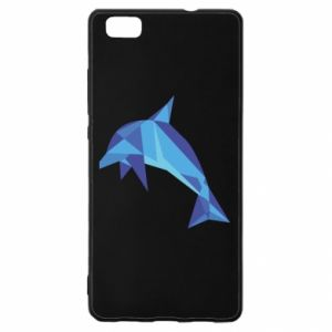 Etui na Huawei P 8 Lite Dolphin abstraction