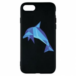 Etui na iPhone SE 2020 Dolphin abstraction
