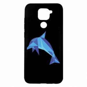 Etui na Xiaomi Redmi Note 9/Redmi 10X Dolphin abstraction