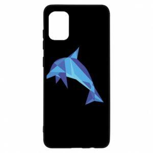 Etui na Samsung A31 Dolphin abstraction