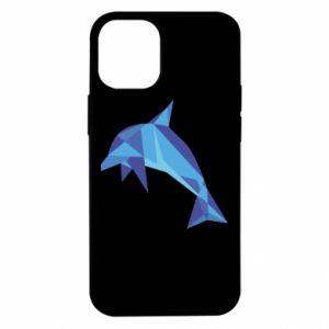 Etui na iPhone 12 Mini Dolphin abstraction