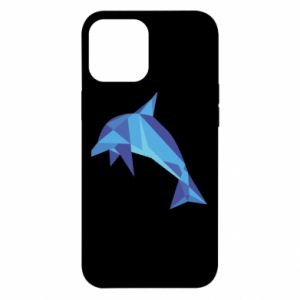 Etui na iPhone 12 Pro Max Dolphin abstraction