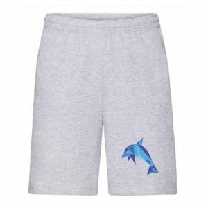 Men's shorts Dolphin abstraction - PrintSalon