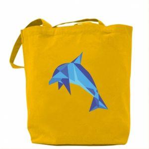 Bag Dolphin abstraction - PrintSalon