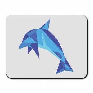Mouse pad Dolphin abstraction - PrintSalon
