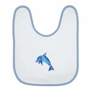 Bib Dolphin abstraction - PrintSalon