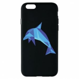 Phone case for iPhone 6/6S Dolphin abstraction - PrintSalon