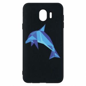 Phone case for Samsung J4 Dolphin abstraction - PrintSalon