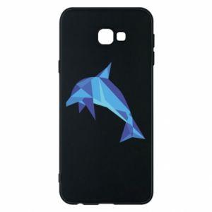 Phone case for Samsung J4 Plus 2018 Dolphin abstraction - PrintSalon