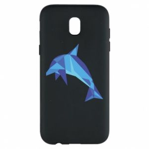 Phone case for Samsung J5 2017 Dolphin abstraction - PrintSalon