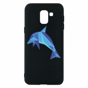 Phone case for Samsung J6 Dolphin abstraction - PrintSalon