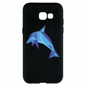 Phone case for Samsung A5 2017 Dolphin abstraction - PrintSalon