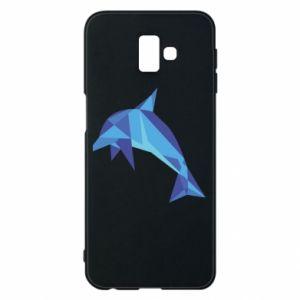 Phone case for Samsung J6 Plus 2018 Dolphin abstraction - PrintSalon