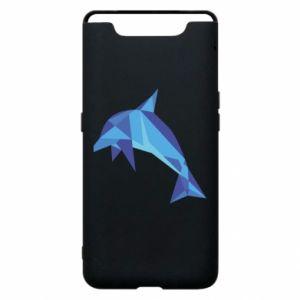 Phone case for Samsung A80 Dolphin abstraction - PrintSalon