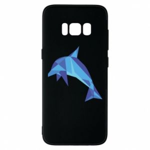 Phone case for Samsung S8 Dolphin abstraction - PrintSalon
