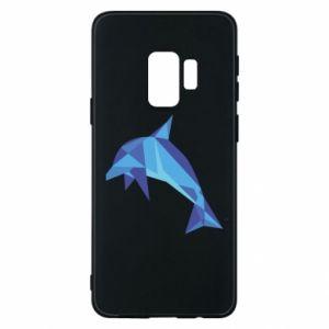 Phone case for Samsung S9 Dolphin abstraction - PrintSalon