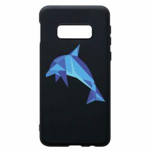 Phone case for Samsung S10e Dolphin abstraction - PrintSalon