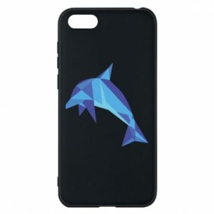 Phone case for Huawei Y5 2018 Dolphin abstraction - PrintSalon