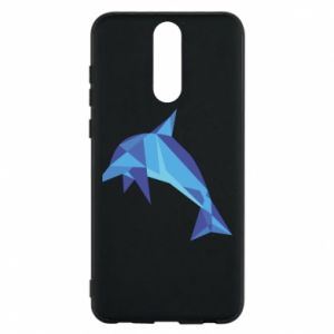 Phone case for Huawei Mate 10 Lite Dolphin abstraction - PrintSalon