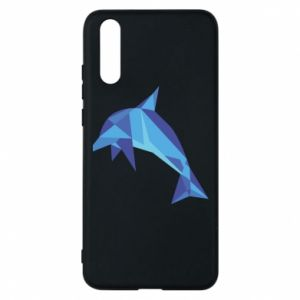 Phone case for Huawei P20 Dolphin abstraction - PrintSalon