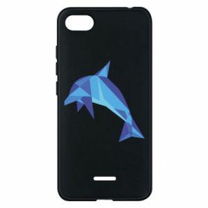 Phone case for Xiaomi Redmi 6A Dolphin abstraction - PrintSalon