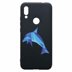 Phone case for Xiaomi Redmi 7 Dolphin abstraction - PrintSalon