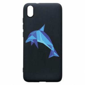 Phone case for Xiaomi Redmi 7A Dolphin abstraction - PrintSalon
