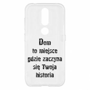 Etui na Nokia 4.2 Dom to miejsce ...