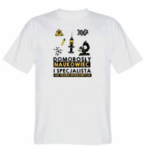 Koszulka Domorosły naukowiec
