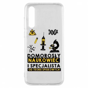 Huawei P20 Pro Case Homegrown scientist