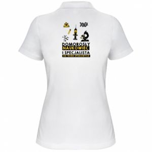 Women's Polo shirt Homegrown scientist