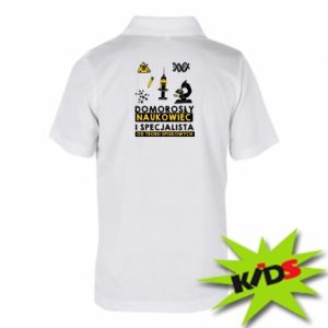 Children's Polo shirts Homegrown scientist