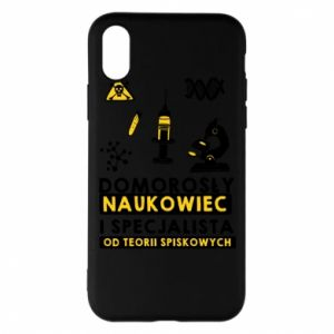 Phone case for iPhone X/Xs Homegrown scientist