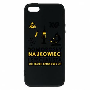 Phone case for iPhone 5/5S/SE Homegrown scientist