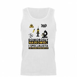 Męska koszulka Domorosły naukowiec