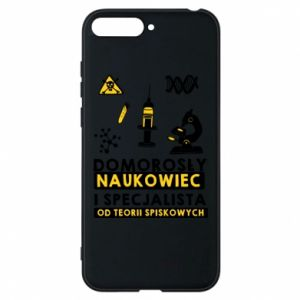 Phone case for Huawei Y6 2018 Homegrown scientist