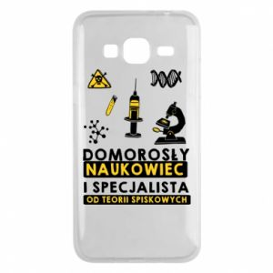 Phone case for Samsung J3 2016 Homegrown scientist