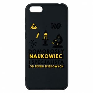 Phone case for Huawei Y5 2018 Homegrown scientist