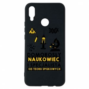 Phone case for Huawei P Smart Plus Homegrown scientist
