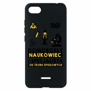 Phone case for Xiaomi Redmi 6A Homegrown scientist