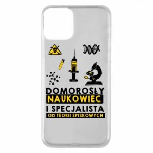 Phone case for iPhone 11 Homegrown scientist