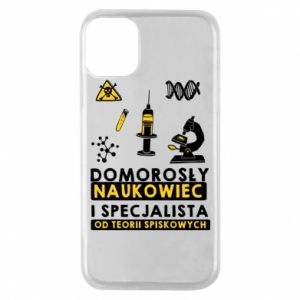Phone case for iPhone 11 Pro Homegrown scientist