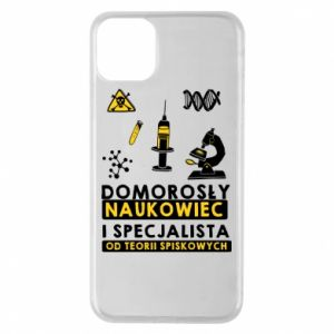 Phone case for iPhone 11 Pro Max Homegrown scientist