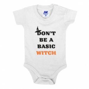 Body dla dzieci Don't be a basic witch