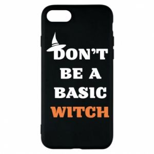 Etui na iPhone 8 Don't be a basic witch