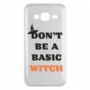 Etui na Samsung J3 2016 Don't be a basic witch