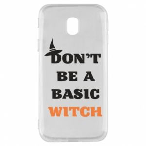 Etui na Samsung J3 2017 Don't be a basic witch