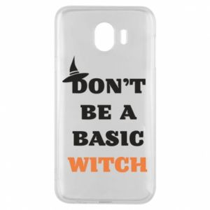 Etui na Samsung J4 Don't be a basic witch