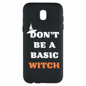 Etui na Samsung J5 2017 Don't be a basic witch
